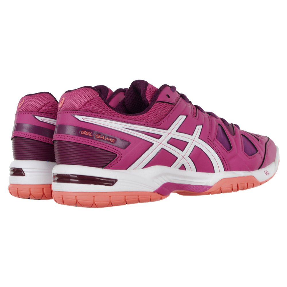 Details zu Professional Asics Gel Game 5 Women's Tennis Shoes Sports Training Sneakers