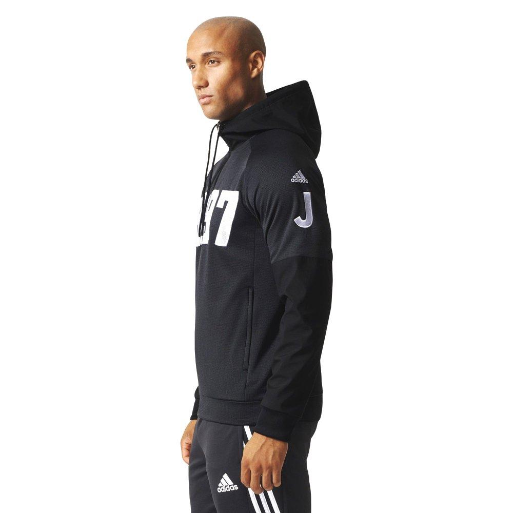 Bluza Adidas Juventus męska piłkarska z kapturem treningowa