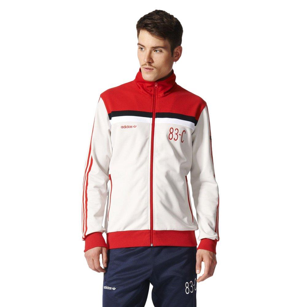 Najnowsza moda wylot aliexpress Bluza Adidas Originals 83-C Tracktop męska dresowa sportowa ...