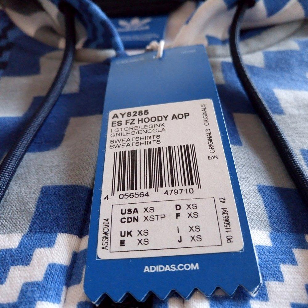 Bluza Adidas Originals Essentials AOP męska dresowa sportowa z kapturem