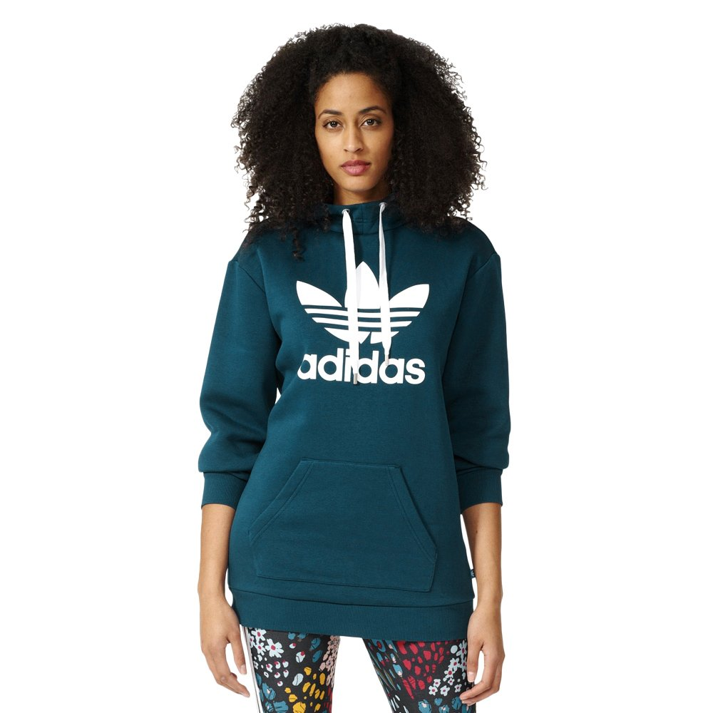 Bluza Adidas Originals Long Hoodie damska dresowa sportowa z