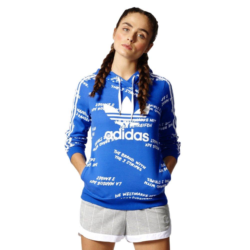 7a91e3d75036f Bluza Adidas Originals Slim Hoodie damska sportowa dresowa z kapturem ...