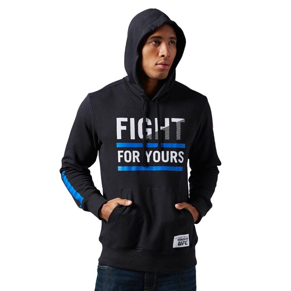 64f339a51f8b3 Bluza Reebok Combat UFC Fan Hoody męska dresowa sportowa z kapturem ...