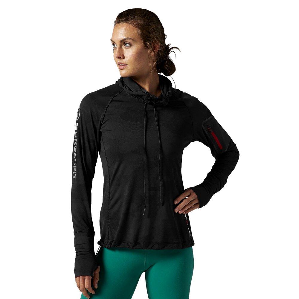 936d01e31c2ef0 Bluza Reebok CrossFit CorDura Jacquard damska sportowa z kapturem do  biegania ...