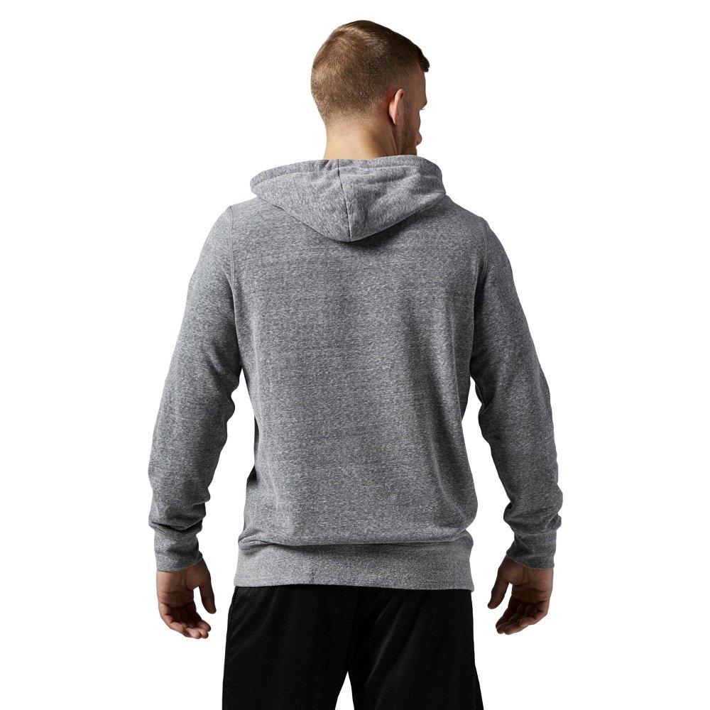 Sklep: bluza reebok el logo męska z kapturem sportowa dresowa