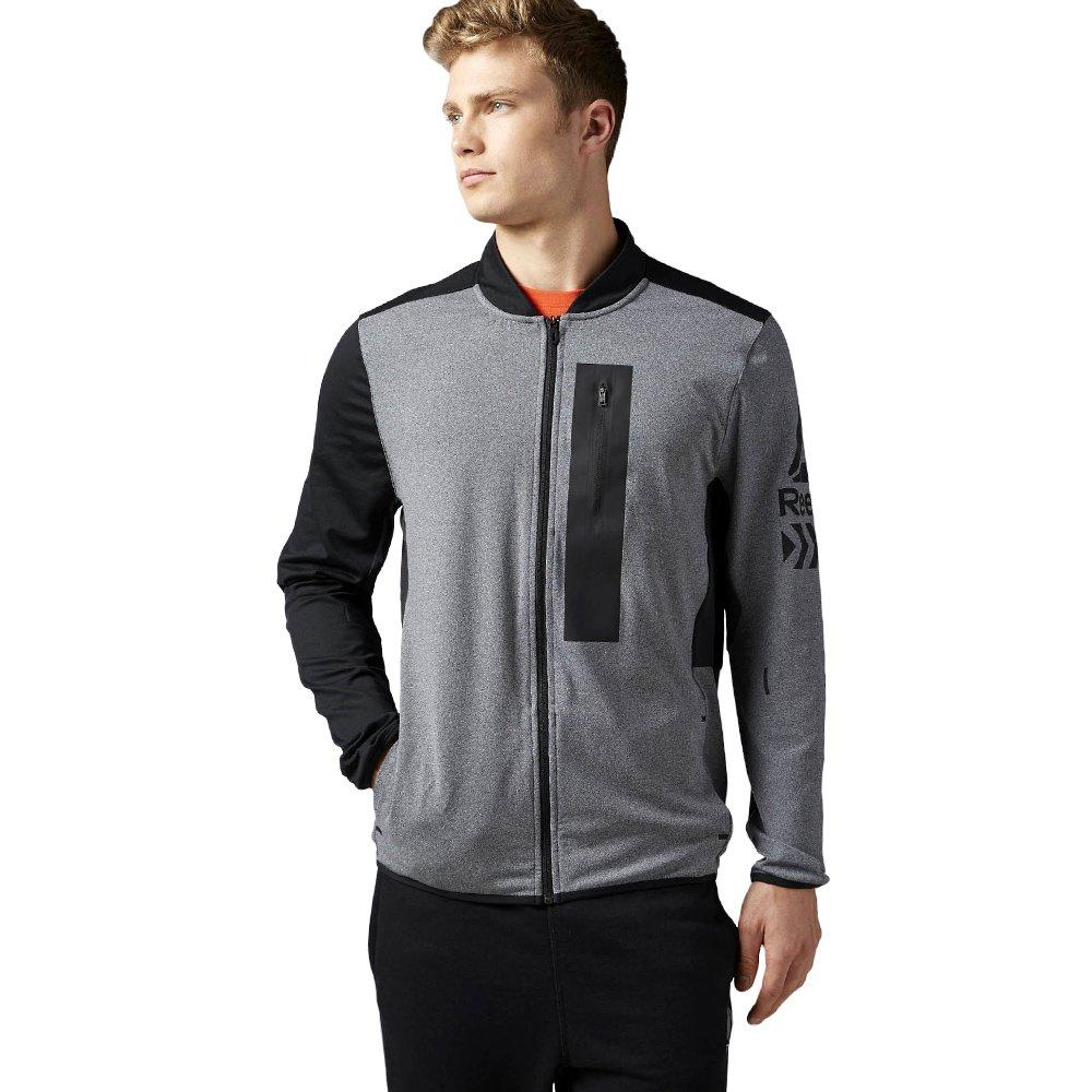 cc018f9630ec01 Bluza Reebok Graphic męska sportowa dresowa rozpinana termoaktywna ...