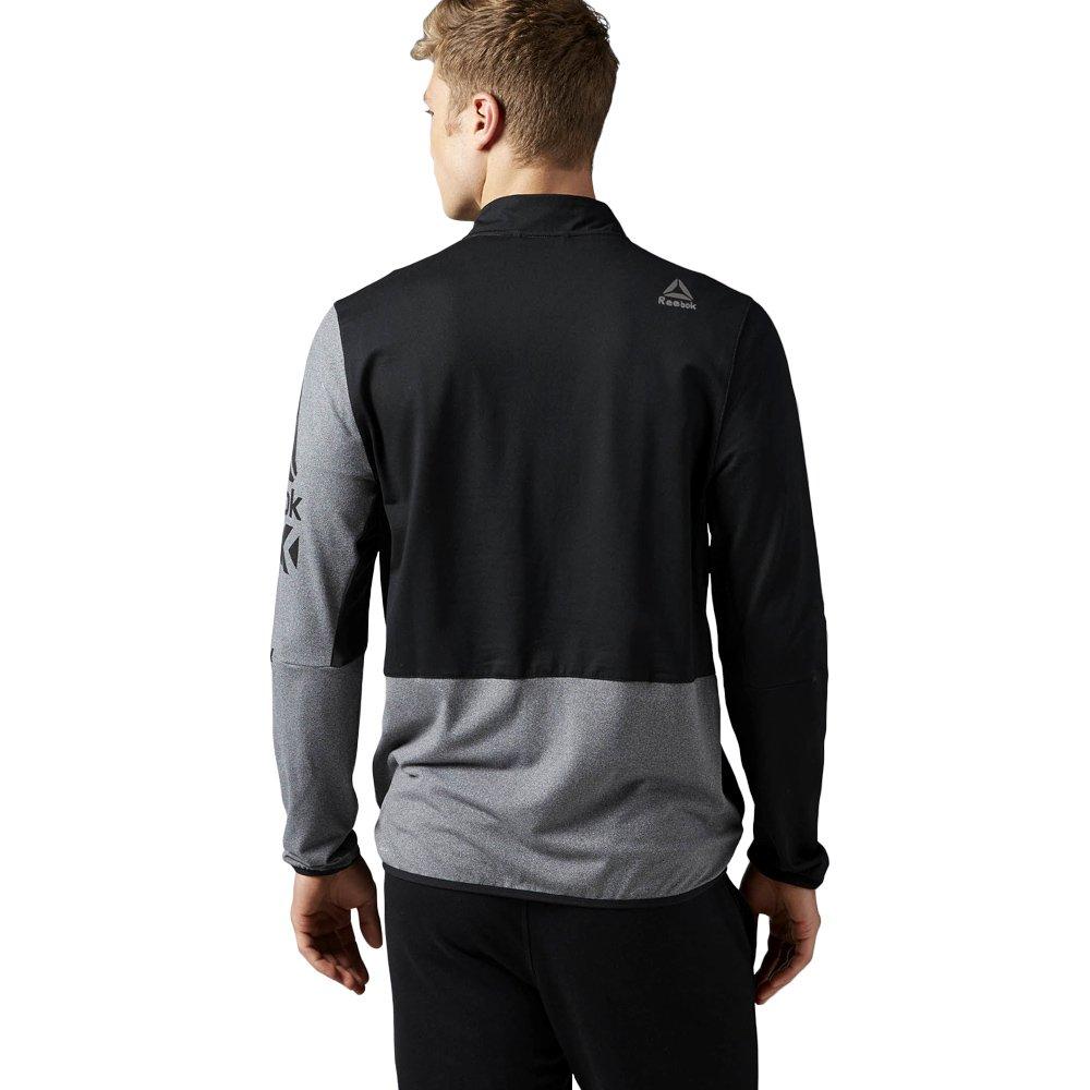 c9ea0345340285 ... Bluza Reebok Graphic męska sportowa dresowa rozpinana termoaktywna ...