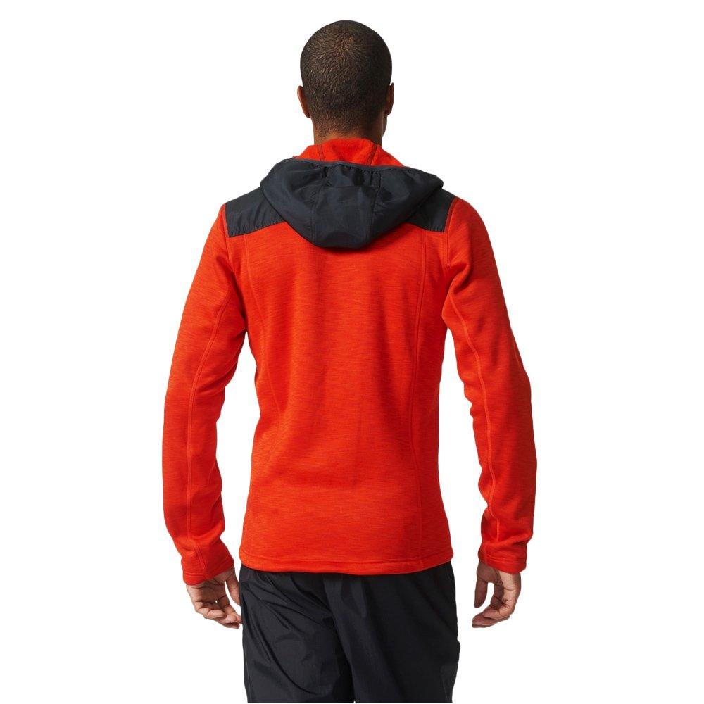 Bluza polarowa Adidas ClimaHeat Fleece męska polar z kapturem outdoor