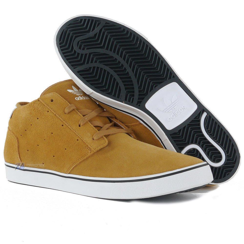 new concept a0434 da938 Buty Adidas Originals Foray męskie skórzane tenisówki za kostkę sportowe ...