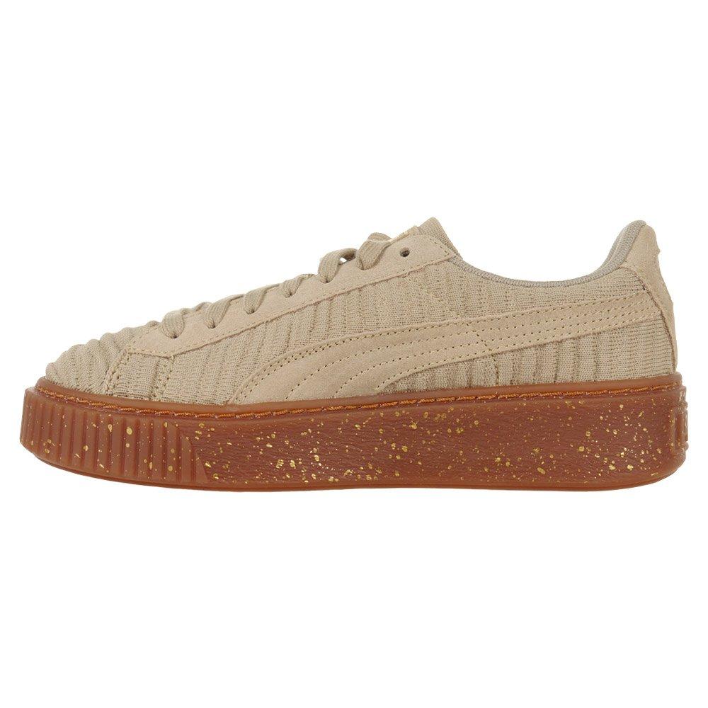 Puma Basket Platform Ow W 002 brązowe | Sneakers, Buty i Obuwie