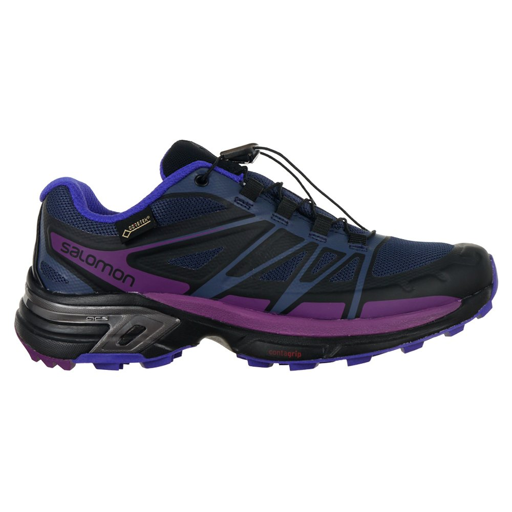a618a843 ... Buty Salomon Wings Pro 2 Gore-Tex damskie do biegania outdoor trail  running ...