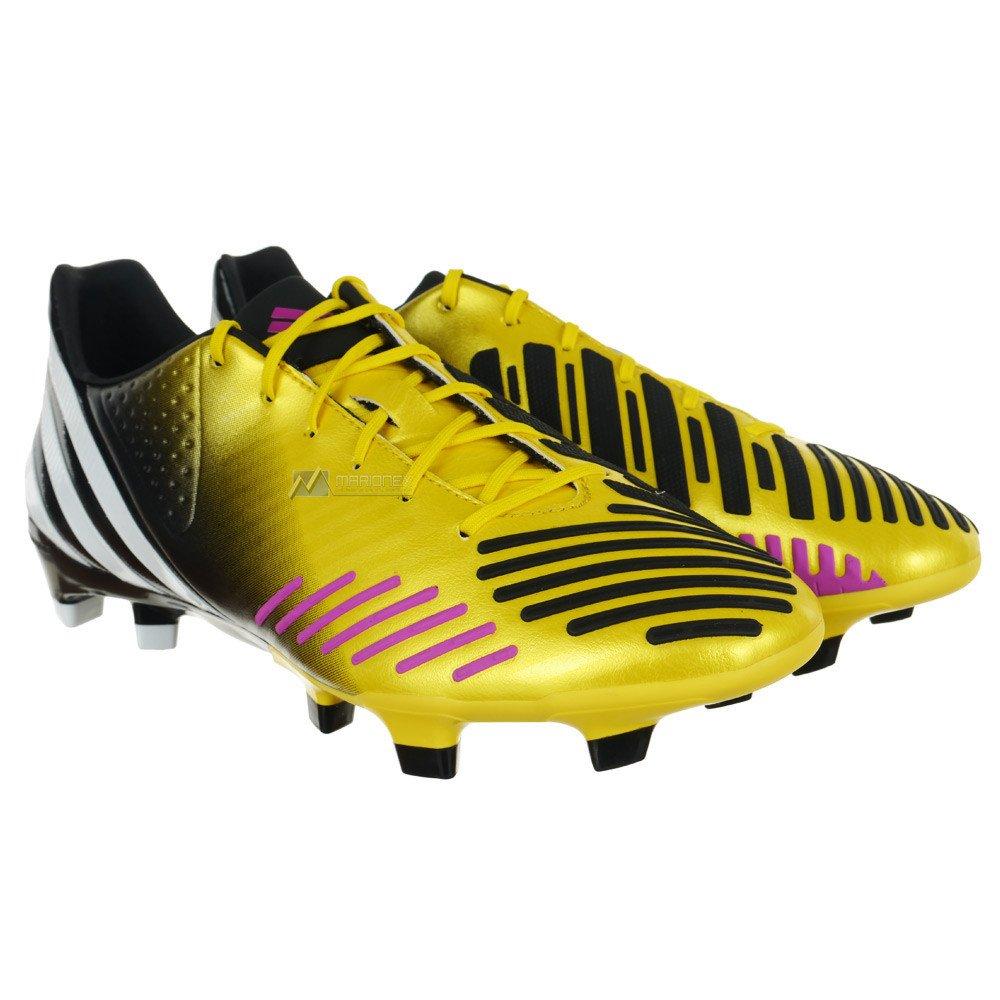 1f5d76f239837 Buty piłkarskie Adidas Predator LZ TRX FG korki lanki G64888 zółto ...