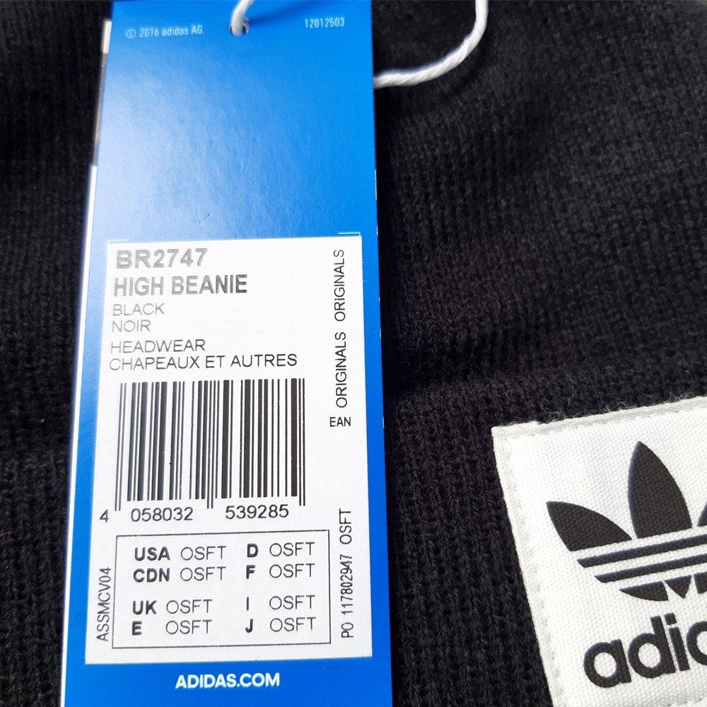 Czapka zimowa Adidas Originals Logo Beanie dziecięca sportowa BR2747 ... 47269dc44e86
