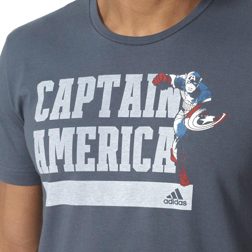 a9b49a117 ... Koszulka Adidas Marvel Kapitan Ameryka męska t-shirt sportowy z  nadrukiem ...