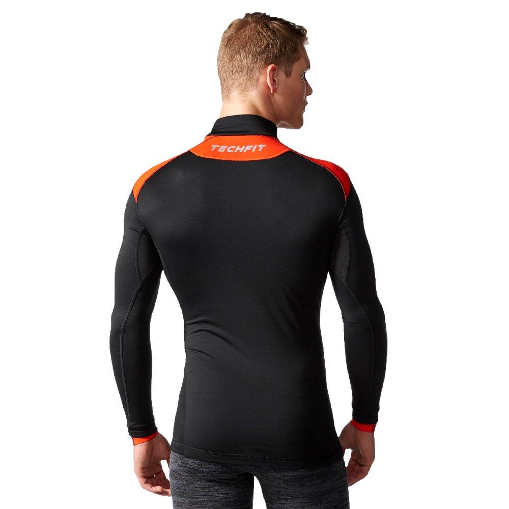Koszulka Adidas TechFit ClimaHeat Mock 2.0 męska kompresyjna treningowa