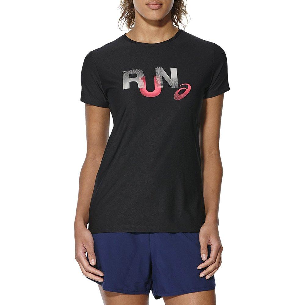 45a84b99ad2a7d Koszulka Asics Graphic SS Top damska t-shirt sportowy termoaktywny ...