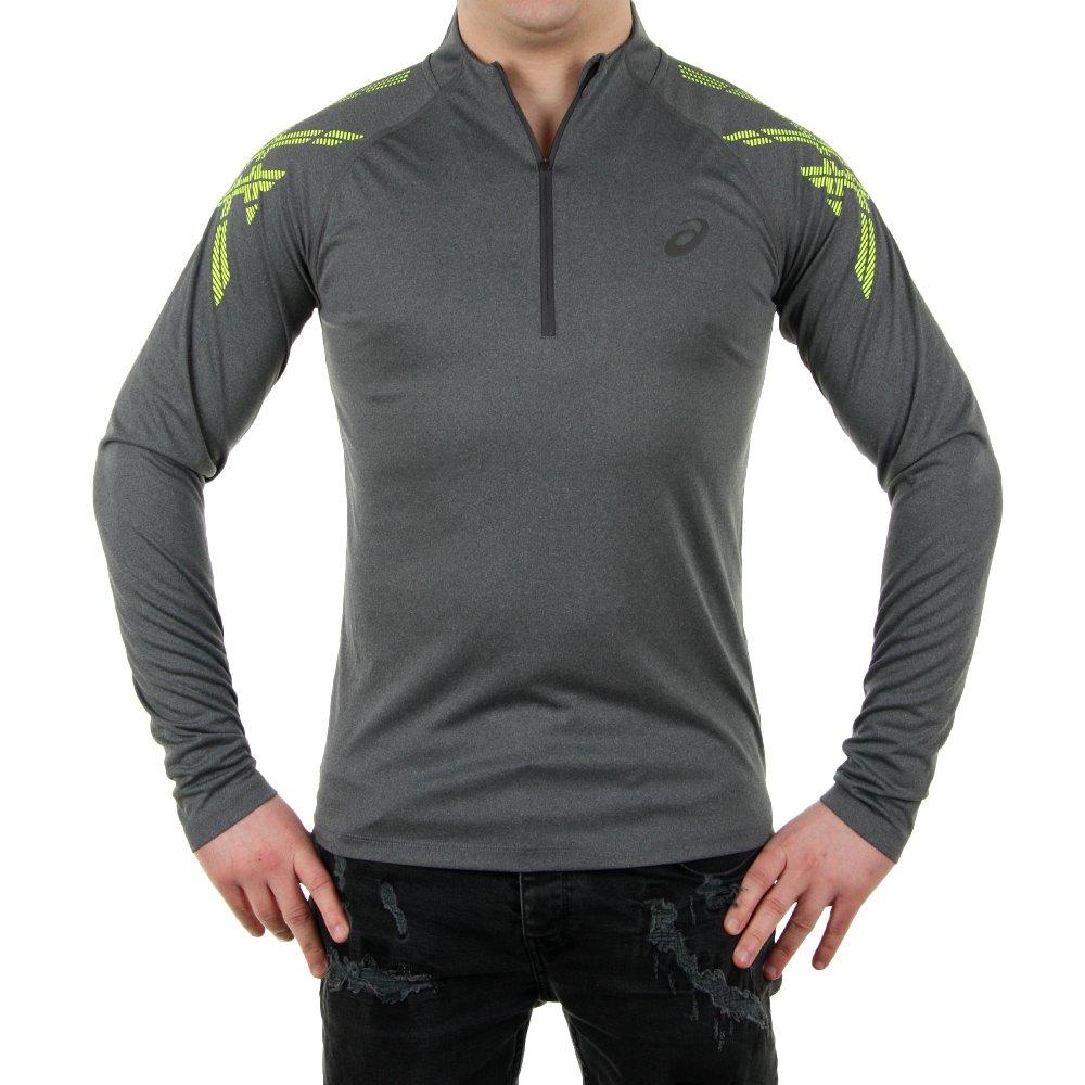 ogromny wybór nowe style topowe marki Koszulka Asics Stripe 1/2 Zip męska sportowa termoaktywna do ...