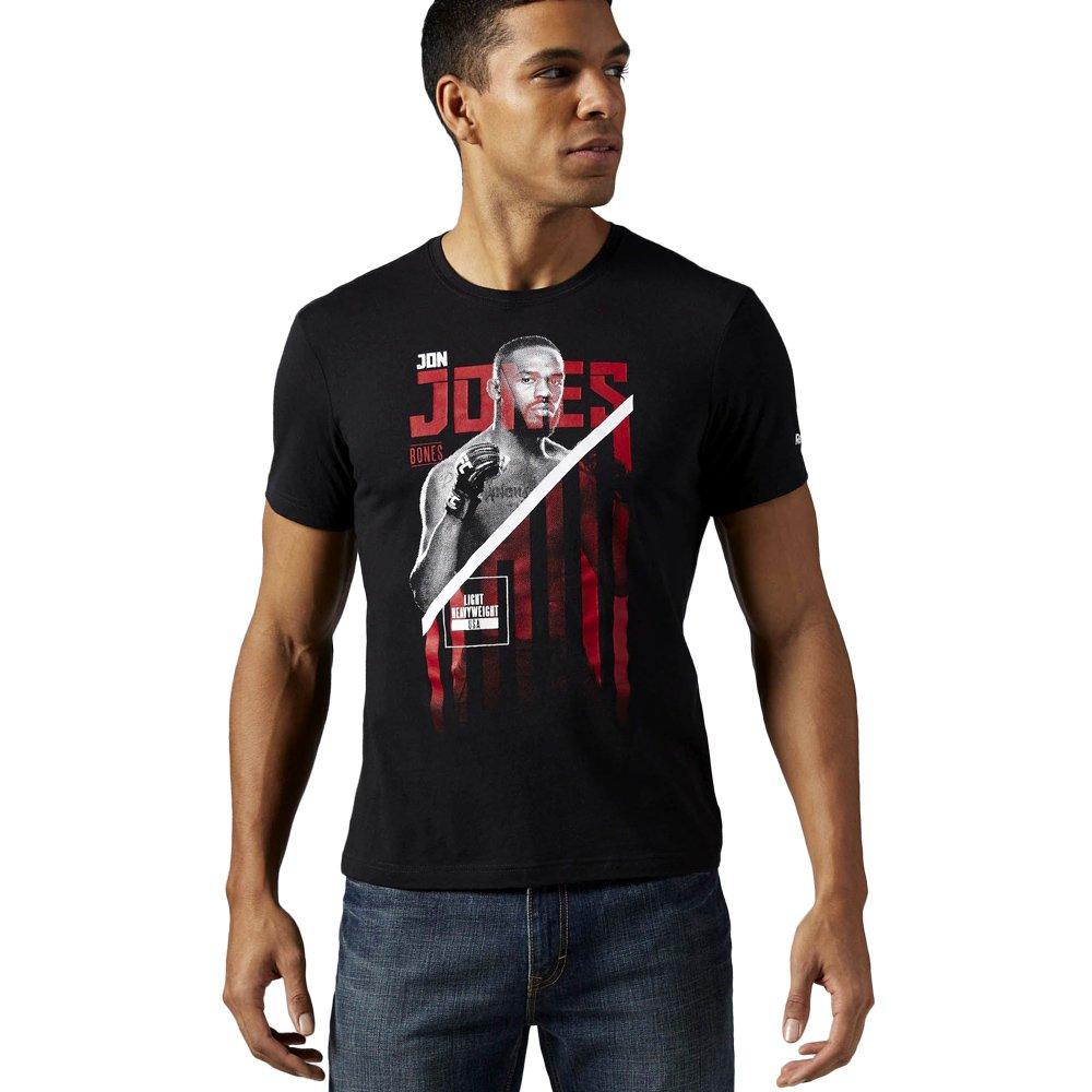 8209804de Koszulka Reebok Combat UFC Jon Bones Jones męska t-shirt sportowy ...