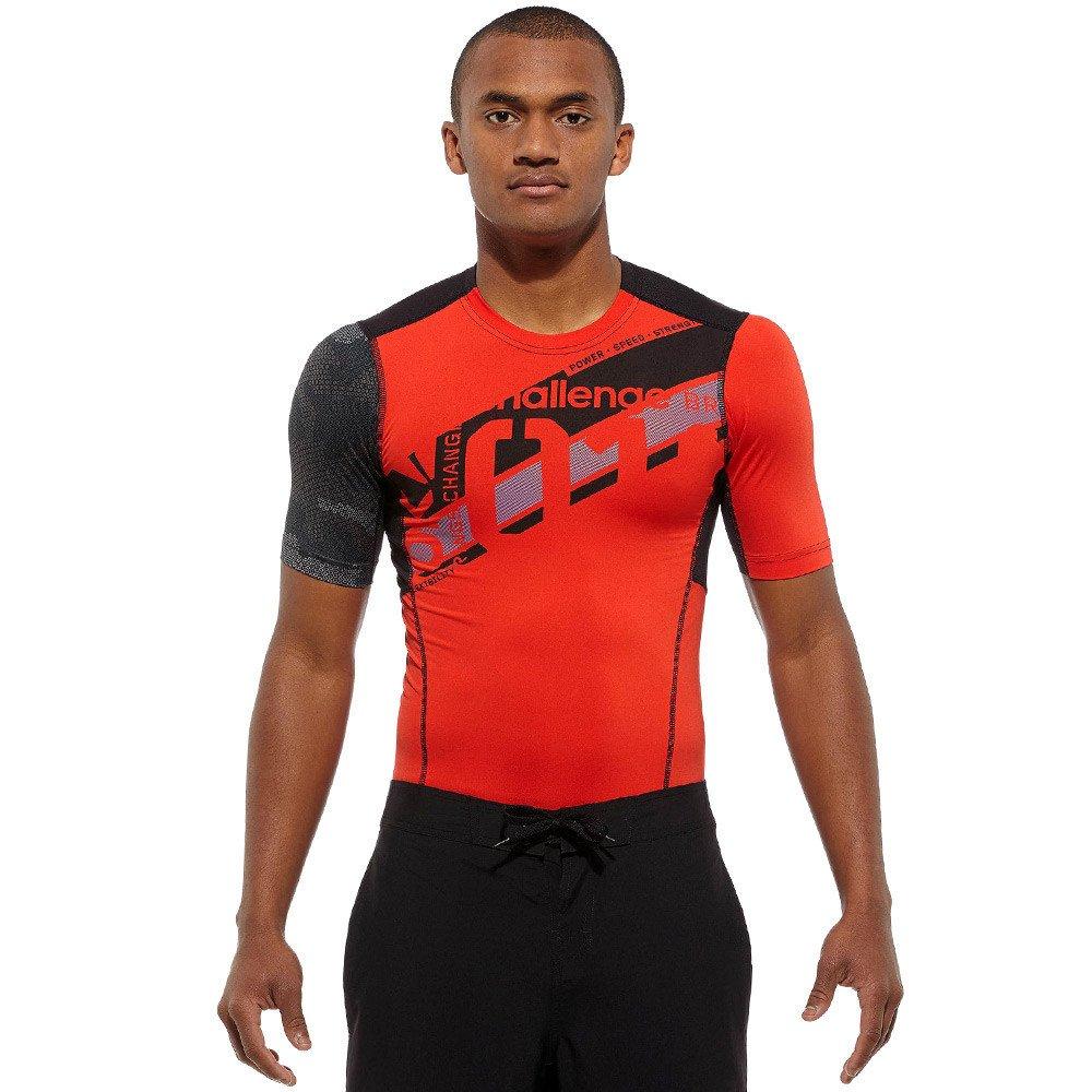 27c832b2012bc3 Koszulka Reebok CrossFit męska kompresyjna na siłownie do biegania ...