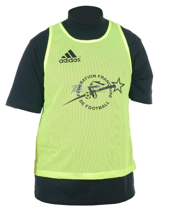 47bf102ac Koszulka treningowa Adidas Chasuble FFF sportowa 192027 żółty ...