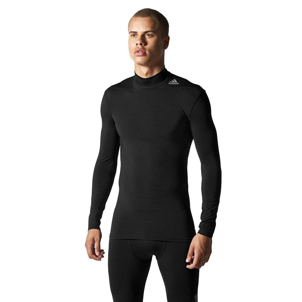 35d95178ba381a Koszulka z długim rękawem Adidas TechFit Base Warm Mock męska kompresyjna  termoaktywna ...