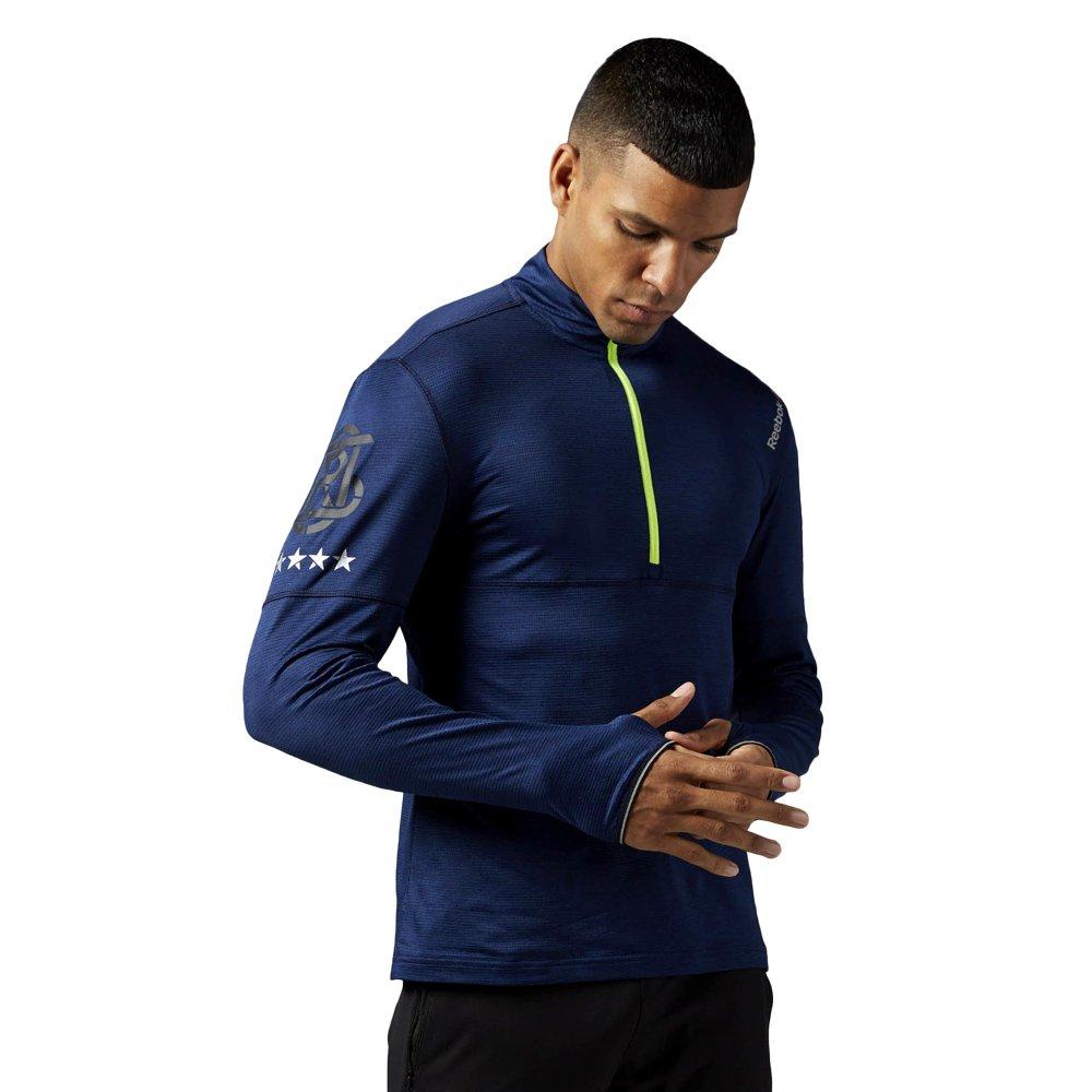 Koszulka z długim rękawem Reebok One Series Run 14 Zip