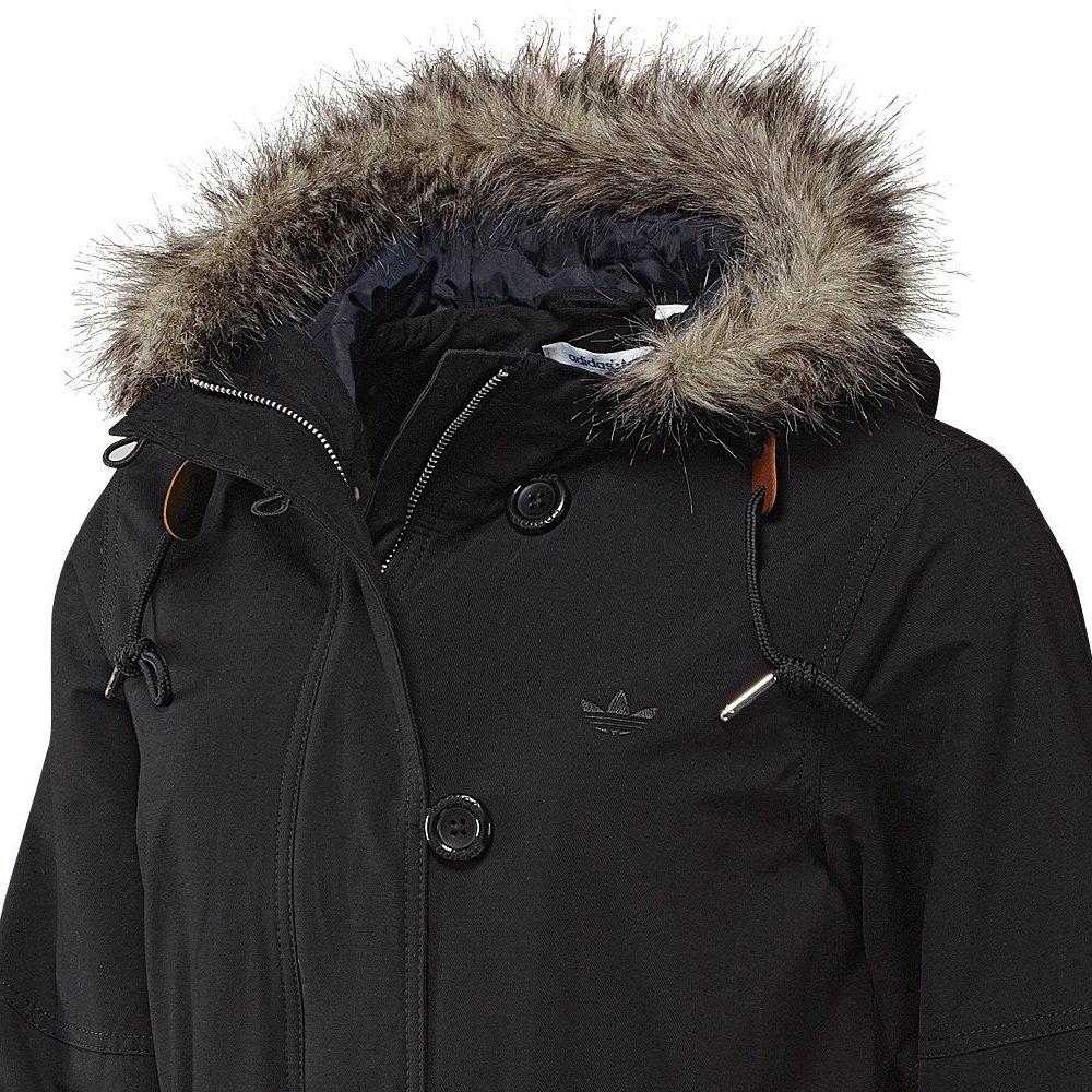 Kurtka Adidas Originals Fur Woven damska płaszcz parka przejściowa 34