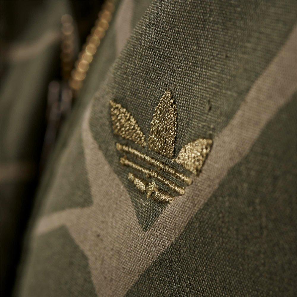 Kurtka damska Adidas Originals GIRAFFE WOVEN PARKA Płaszcz