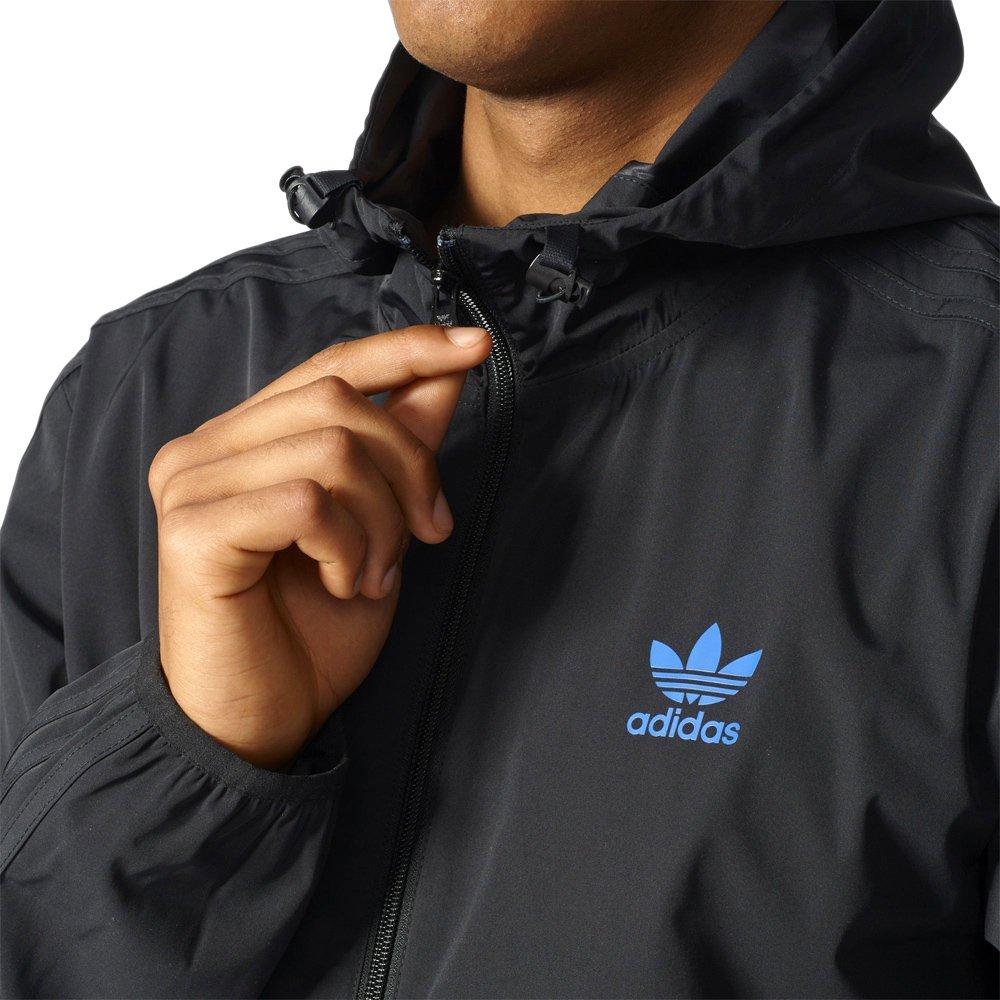 e15acd45a ... Kurtka Adidas Originals New York City męska sportowa wiatrówka z  kapturem ...