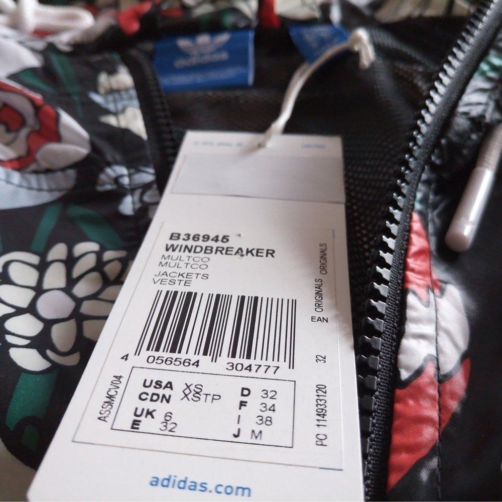 d0d4991f61859 Kurtka Adidas Originals Windbreaker damska sportowa wiatrówka B36945 ...