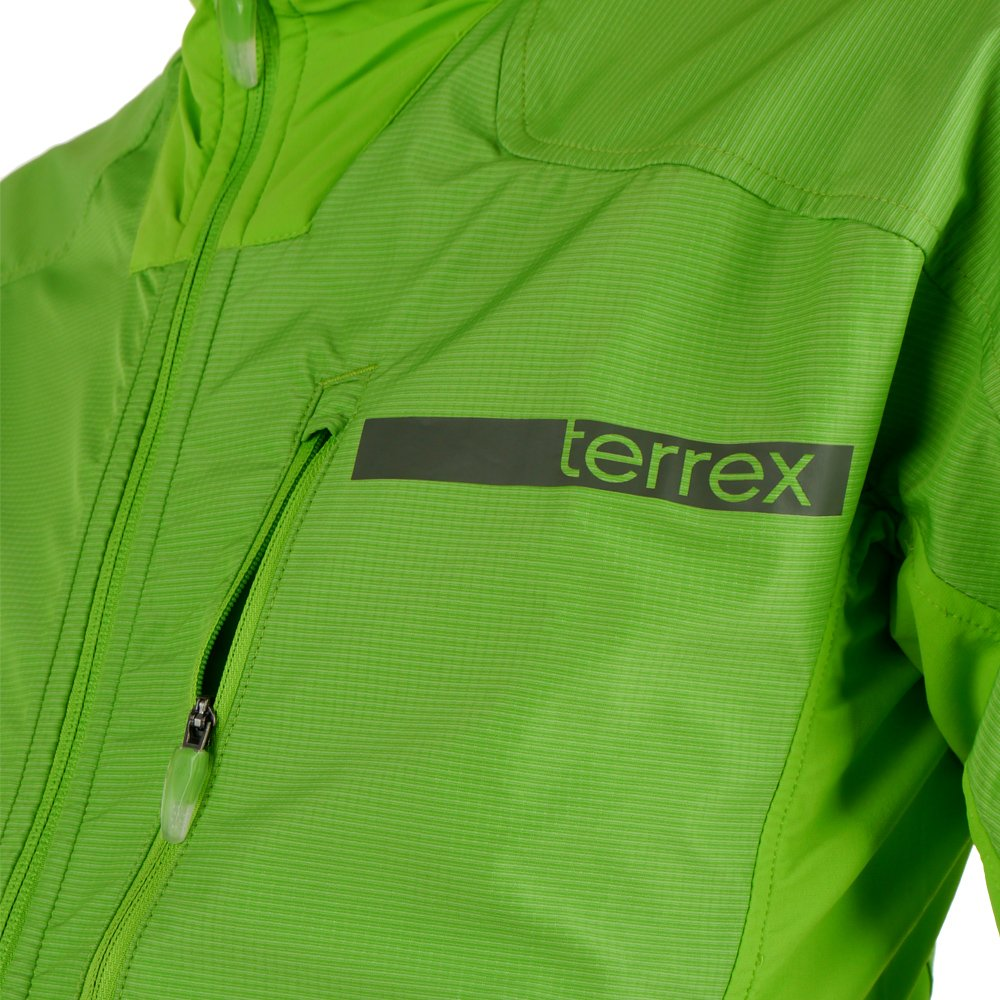 szukać ujęcia stóp nowe tanie Kurtka Adidas Terrex Hybrid Softshell męska wiatrówka ...
