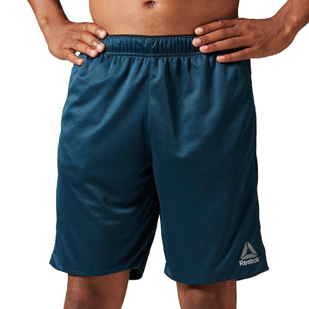 Spodenki Reebok Workout Knit męskie sportowe termoaktywne