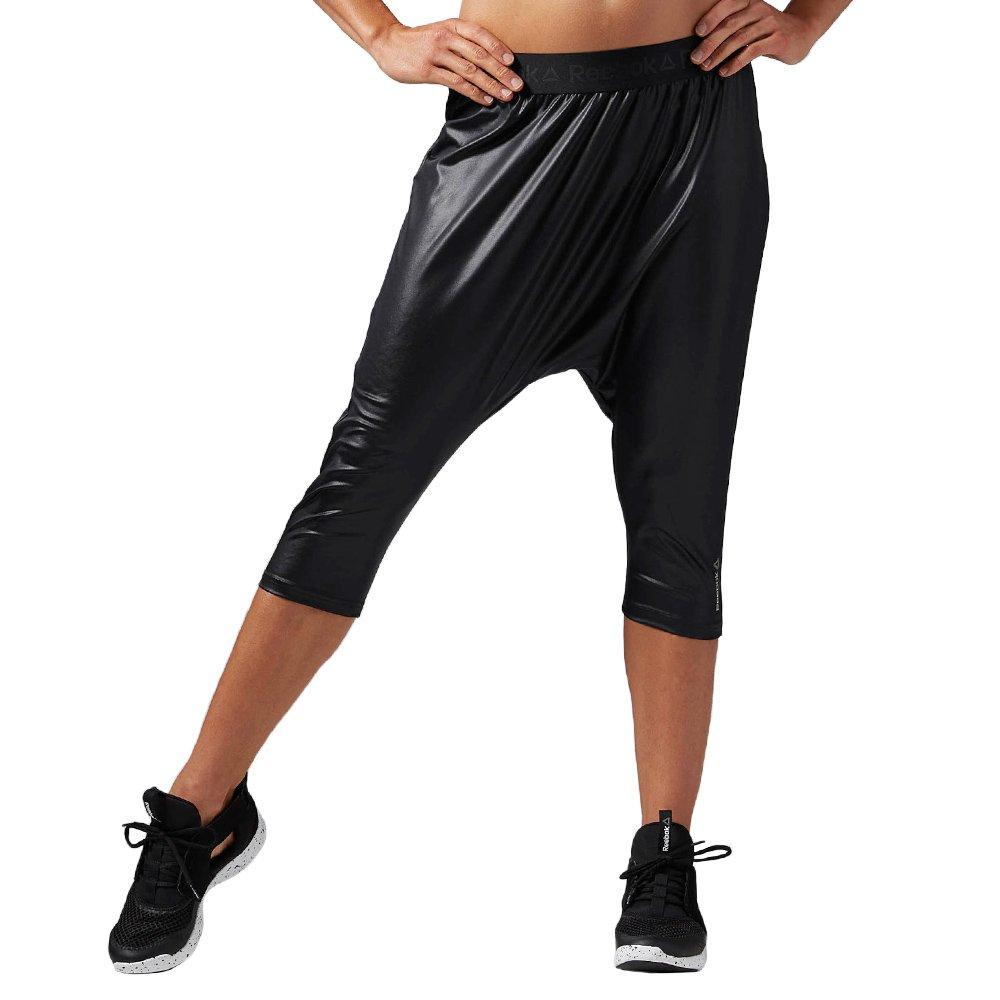 93fd9e43 Spodnie 3/4 Reebok Dance Knit Harem Capri damskie sportowe do tańca ...