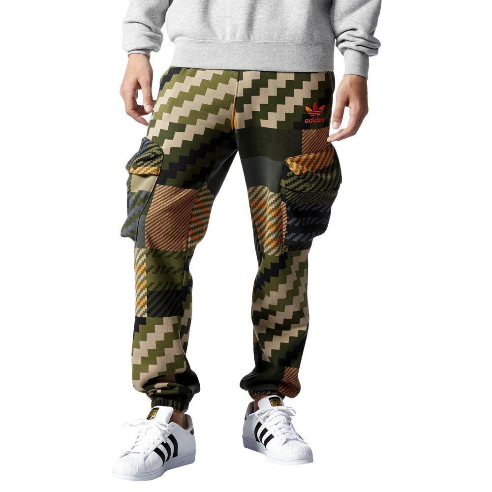 adidas originals brown spodnie dresowe