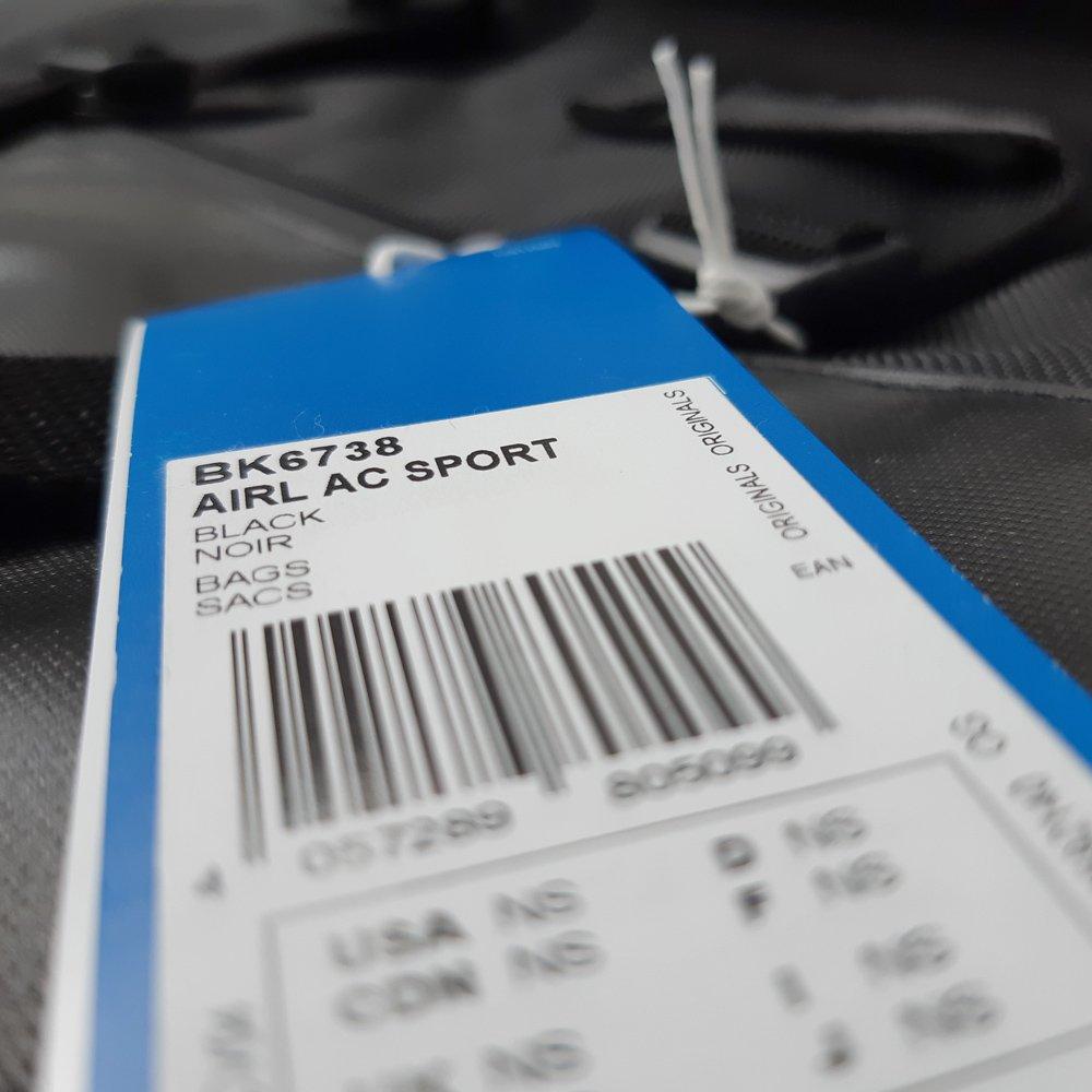8fc01326b2c8d ... Torba Adidas Originals Airliner AC Sport na ramię sportowa na laptopa