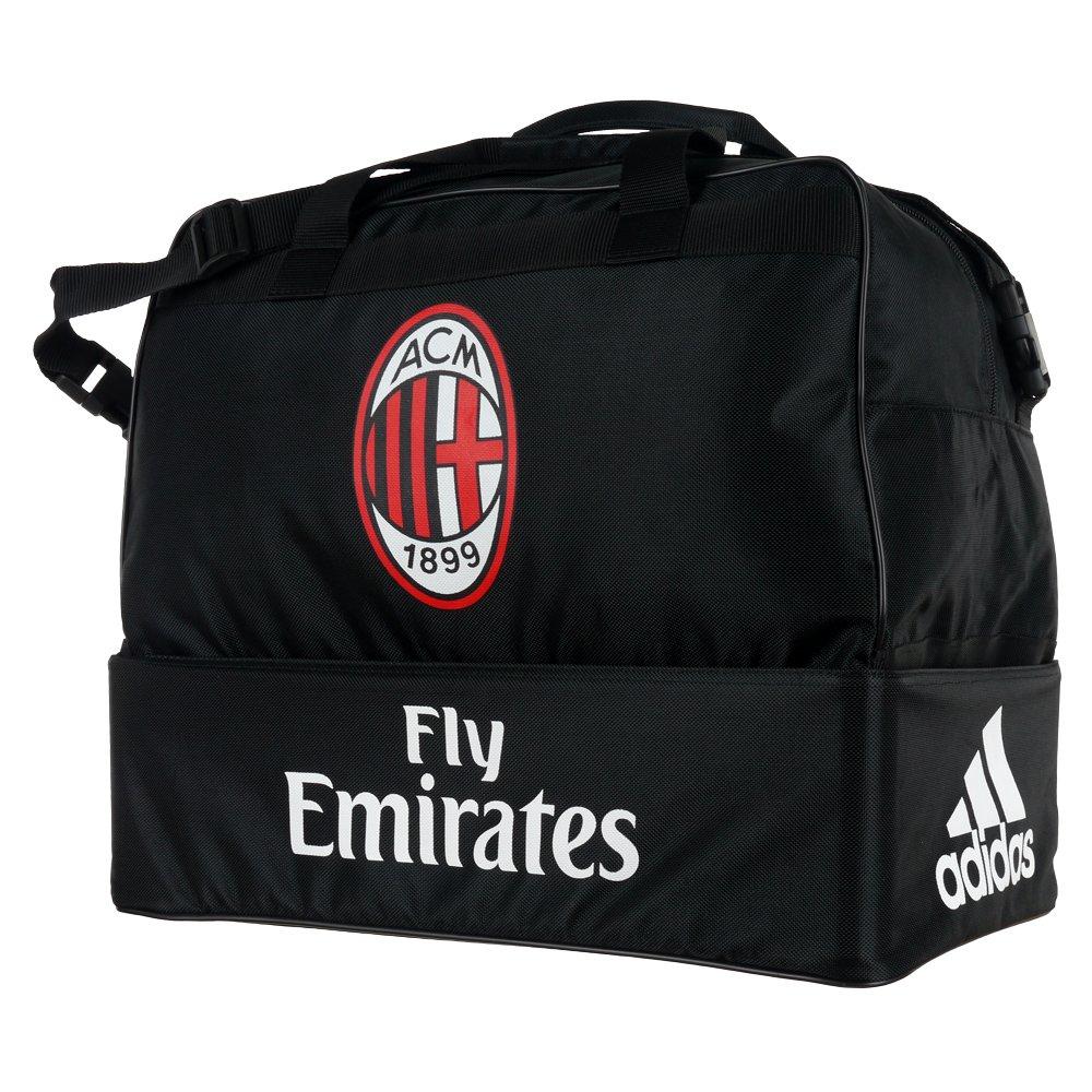15a968a69dfe2 Torba sportowa Adidas AC Milan Football treningowa piłkarska z podwójnym  dnem ...