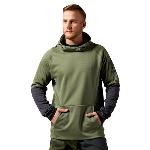 Bluza Reebok One Series Fleece męska sportowa z kapturem do biegania